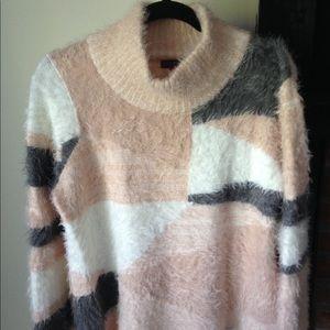 "Vince Camuto Medium ""Fuzzy"" Sweater Women's"